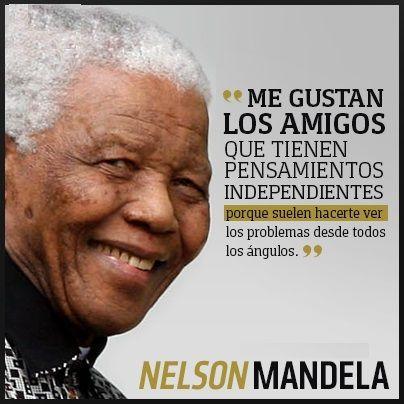 70 Frases De Nelson Mandela Sobre La Vida La Paz Y La Igualdad Inspirational Phrases Nelson Mandela True Words