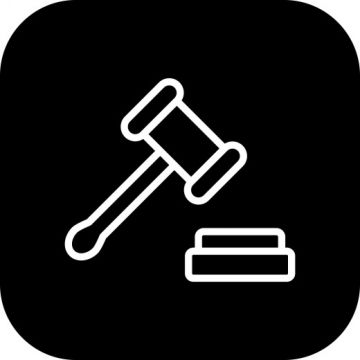 Gavel Icon Isolated On Abstract Background Background Icons Abstract Icons On Icons Png And Vector With Transparent Background For Free Download Abstract Backgrounds Simple Graphic Abstract