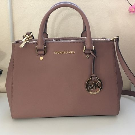 0b6203f9db08da NEW dusty rose color med Sutton handbag MK New MK bag. Med size Sutton bag  made with real leather very good material new with dust bag MICHAEL Michael  Kors ...