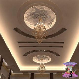 افضل ديكورات جبس اسقف راقيه 2019 Modern Gypsum Board For Walls And Ceilings False Ceiling False Ceiling Living Room Ceiling Design