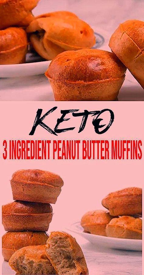 BESTE Keto Muffins! Low Carb 3 Ingredient Erdnussbutter Muffin Idea  u0026 ... -  BESTE Keto Muffins! Low Carb 3 Zutaten Erdnussbutter Muffin Idea  u2013 Schnell & einfach Mehlfrei  - #beste #Carb #contourmakeup #BESTE #carb #Erdnussbutter #Idea #Ingredient #Keto #Muffin #Muffins #u0026