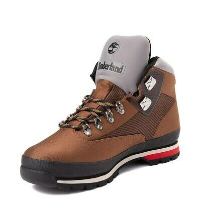Brand New Mens Timberland Euro Hiker Jacquard Tan Red Boots Timberland Euro Hiker Timberland Mens Red Boots