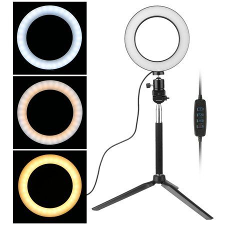 Free Shipping Buy Ring Light 3 Light Colors Led Ring Light Kit With Light Stand For Makeup Camera Smart Phone You Led Ring Light Selfie Ring Light Led Color