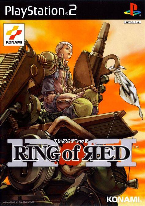 Array - ring of red   playstation 2   konami   2000   box art adds      rh   pinterest co uk