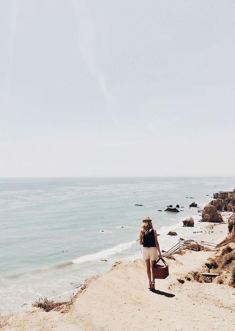 Pique-niquer sur la plage