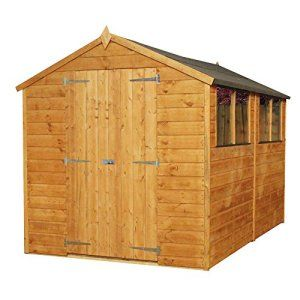 10 X 6 Garden Sheds And Summerhouses With Images Apex Shed Shed