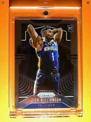 Zion Williamson Panini Prizm Rookie Card 2019 20 Rc 248 Well Centered Psa 10 In 2020 Zion Cards Williamson