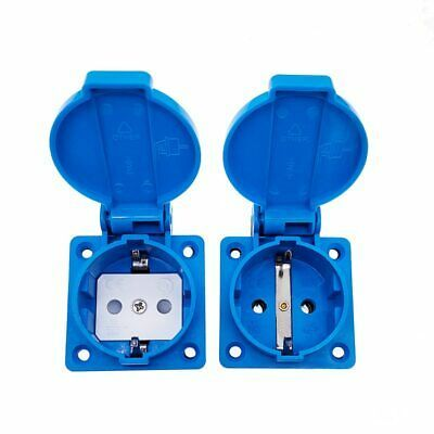 Ad Ebay Schuko Waterproof Socket Industrial Waterproof Socket Copper Contact Body Eu In 2020 Ebay Body Waterproof