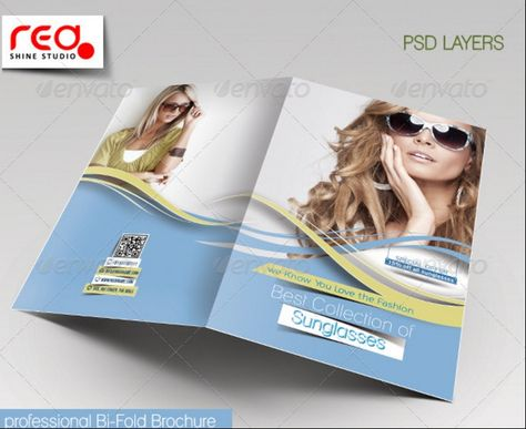 fashion-store-brochure-template 25+ Fashion Brochure Template - bi fold brochure template word