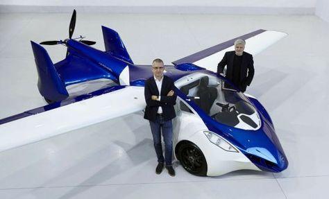 Un prototipo del coche volador de la empresa Aeromobil.