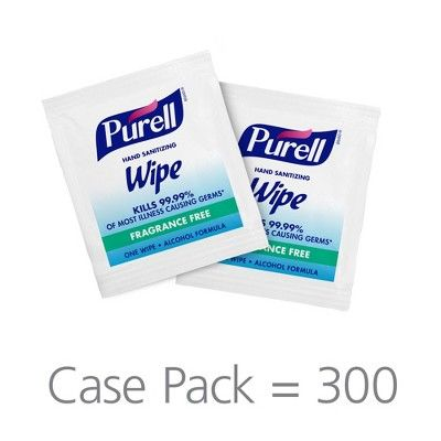 Purell Individually Wrapped Hand Sanitizing Wipes 300ct
