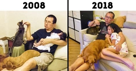 19Before and After Photos That Show the Power ofTime