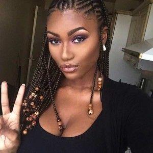 41 Beautiful Micro Braids Hairstyles | hair for me. | Pinterest ...