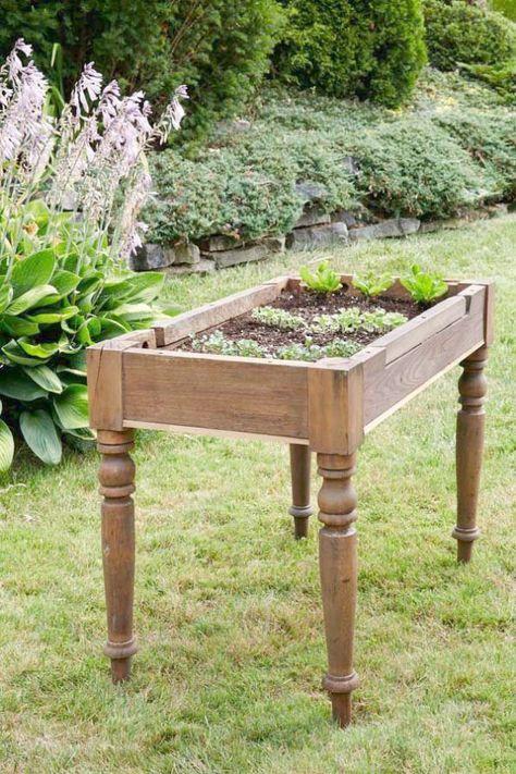 Tavoli Da Giardino Dwg.Raised Garden Bed Design Pictures Considering Garden Landscape
