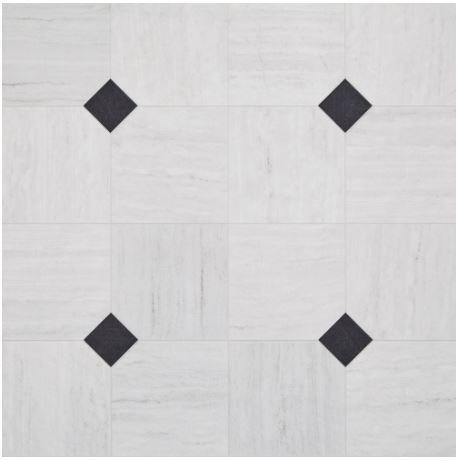 Tier 1 Empire Carrara White Vinyl Vinyl Flooring White Vinyl Flooring Luxury Vinyl