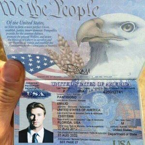 Usa Passport 01 Passport Online Passport Card Template