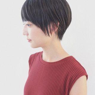 三好 佳奈美さんのスナップ ナチュラル 黒髪 ショート ストレート