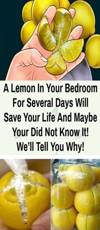 Place A Cut Lemon Beside Your Bed For These Awesome Benefits