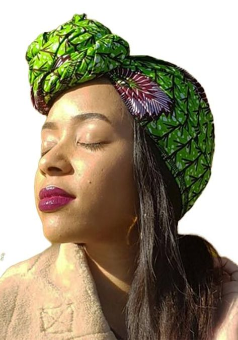 Headwrap / gift for her/ African head scarf / turban/ Head dress for women / ankara headwrap / Afric #headscarfstyles Headwrap / gift for her/ African head scarf / turban/ Head dress for women / ankara headwrap / Afric