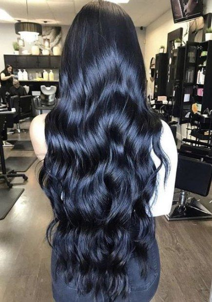 Super Hair Wavy Long Black Curls Ideas Long Hair Styles Black Hair Makeup Hair Styles