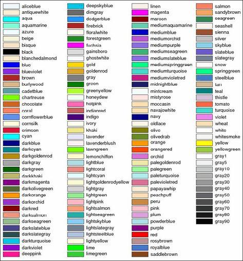 Image Result For Los Colores En Ingles Colores En Ingles