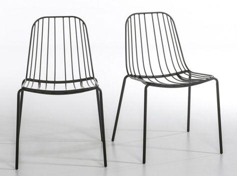 20 Chaises De Jardin Pour Profiter Du Soleil Chaise Metal Chaise Confortable Et Chaise