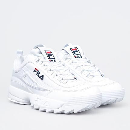 Женские кроссовки FILA DISRUPTOR 2 WHITE белые  68156cfdd4dfd