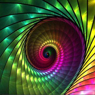 Swirl fractal