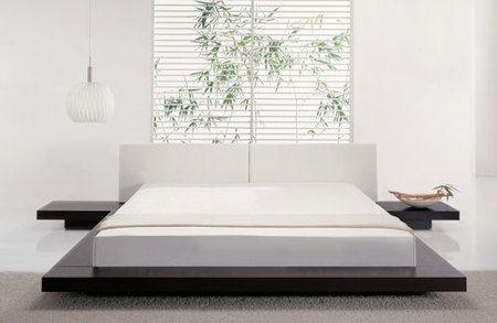 Japanese Style Platform Bed Bedroom Interior Design