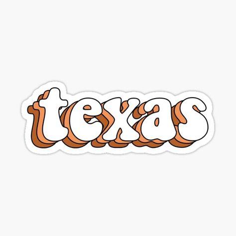 University Of Texas Gifts & Merchandise Texas State University, University Of Virginia, University Logo, Texas Stickers, Cute Stickers, Western Photo, Western Wall, Texas Longhorns Football, Dallas Cowboys
