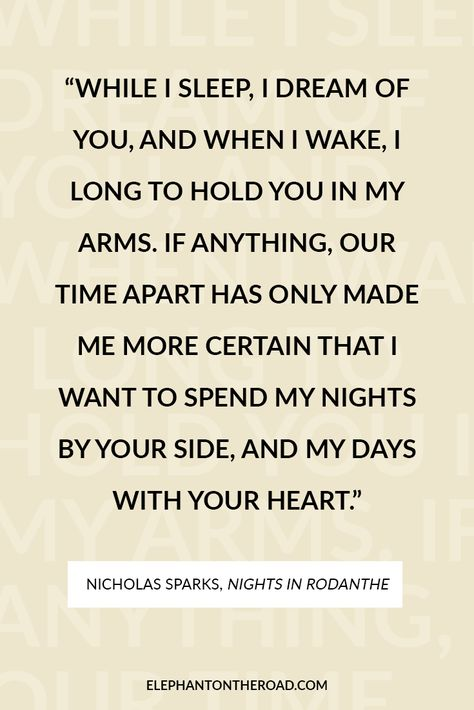 25 Inspirational Long Distance Relationship Quotes You Need To Read Now. Quotes for couples. Inspirational quotes for long distance relationships. Elephant on the Road. #inspirationalquotes
