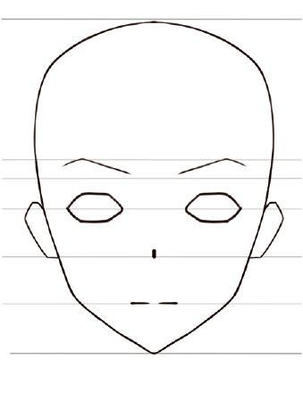 イラスト 顔の描き方