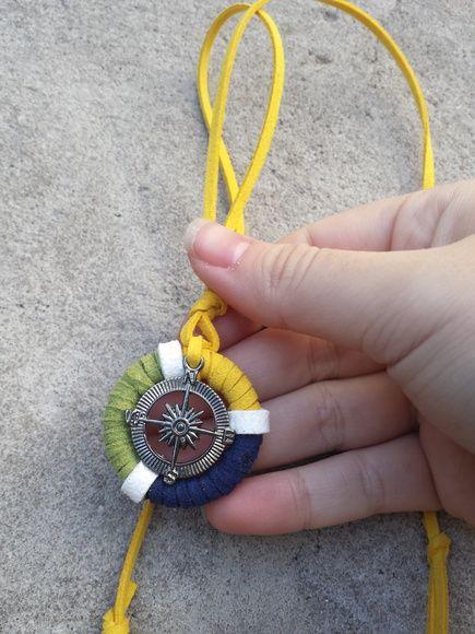 Colar Rosa Dos Ventos Brasil Com Imagens Rosa Dos Ventos