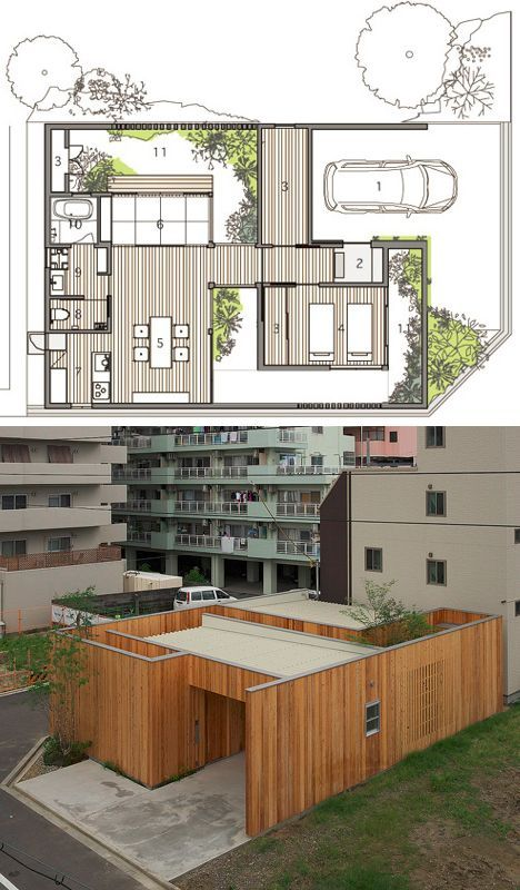 Private Paradise Craftily Hidden Japanese Home Garden Japanese House Japanese Style House Japanese Modern House