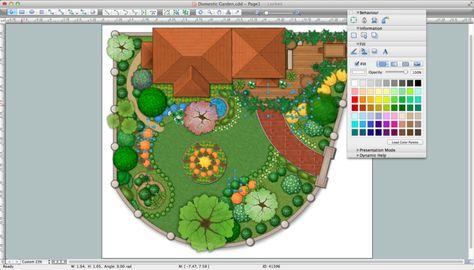 Mit dem Gartenplaner können Sie Ihren Garten bequem planen Grüne - gartenplanung software kostenlos deutsch