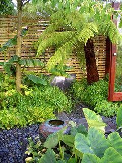 The Burgbad Sanctuary Path In 2020 Bali Garden Tropical Garden Small Tropical Gardens