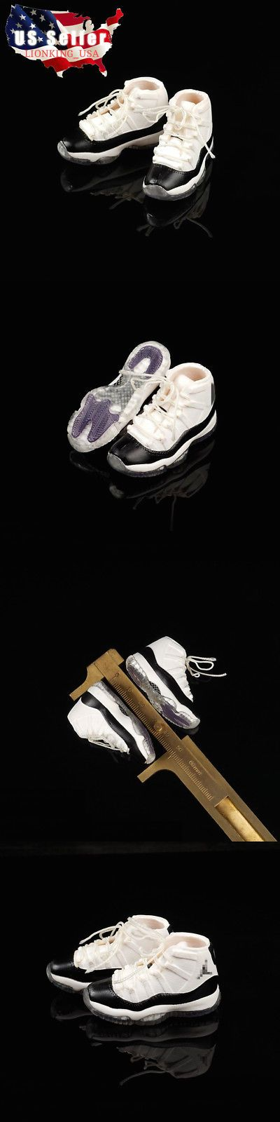 """1//6 Air Jordan Sneakers HOLLOW For 12/"""" Hot Toys PHICEN Male Figure SHIP FROM USA"""