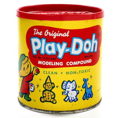 The scent of Play-Doh can evoke memories like almost nothing else can . Play-Doh - a fun little mini-history Play Doh, My Childhood Memories, Childhood Toys, Sweet Memories, Early Childhood, Vintage Fisher Price, Peter Et Sloane, Jouets Fisher Price, Retro Toys