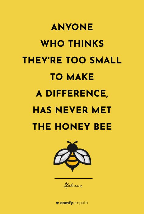 Honey Quotes, Bee Quotes, Nature Quotes, Sensitive Quotes, Sensitive People, Highly Sensitive, Bee Poem, Bee Safe, Bee Facts