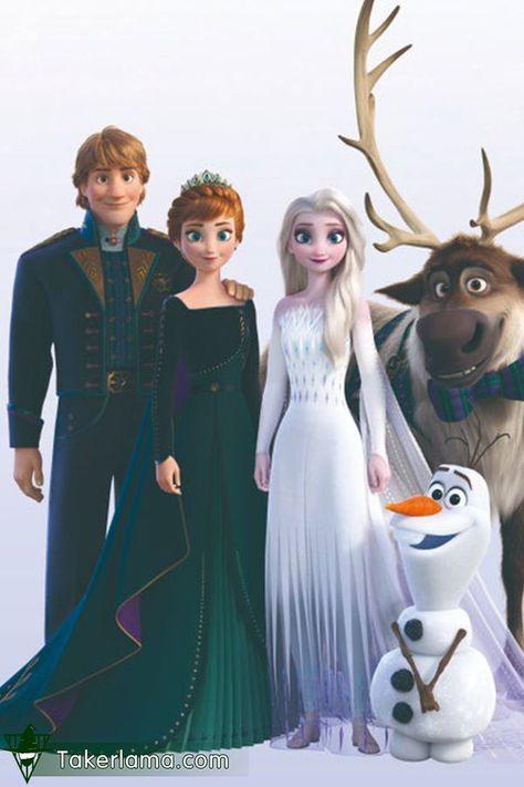 Family portrait, it is so warm.  #Frozen2#Anna#Frozen#엘사#olaf#Disney