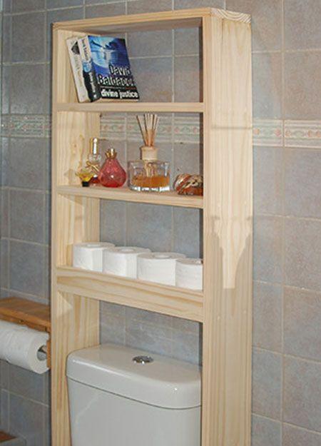 Easy Diy Bathroom Shelf Ideas Toilet Shelves Bathroom Wood Shelves Diy Bathroom Storage
