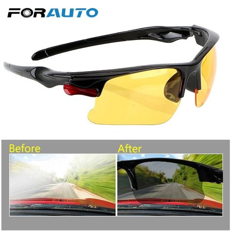 Polar-Tech Night Vision HD Driving Glasses /& Free Shipping
