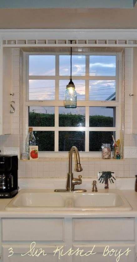 44 Best Ideas For Kitchen Sink Lighting Mason Jars Kitchen