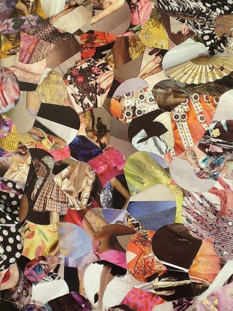 Collage 2 Artisanat 30x21x0 5 Cm Par Valerie Castets Tableau