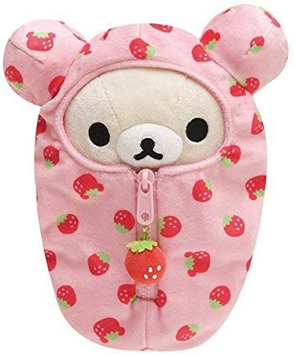Details about New Korilakkuma Sleeping Bag Plush Doll Rilakkuma San-X Limited Japan - Sugar and Spice ☆ Mocha - Plush Beanie Babies, Cute Stuffed Animals, Cute Animals, Animal Fun, Sock Animals, Hello Kitty My Melody, Neko Cat, Cute Plush, Plushies