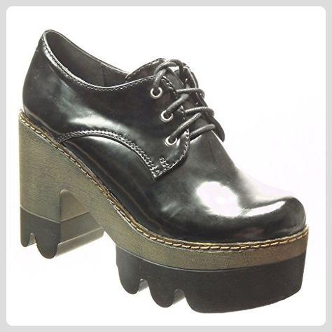 Angkorly damen Schuhe Derby Schuh Stiefeletten Low boots