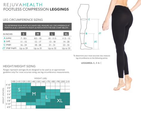 701b4c7040 Compression Leggings for Women   Tights & Footless Support Stockings ...