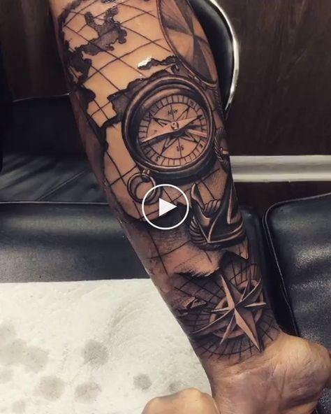 ⭐️ Anchor Tattoo.