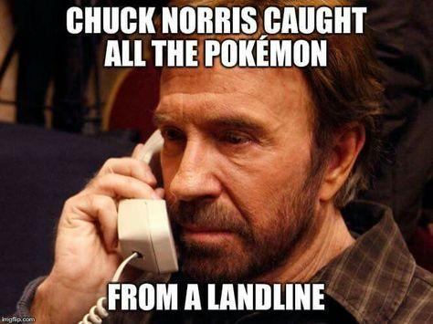 Chuck Norris chooses you!