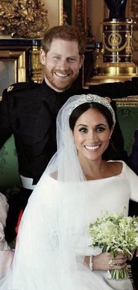 Megan And Harry Wedding.Prince Harry Duke Of Sussex And His New Bride Meghan Duchess Of
